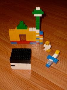 Lego Eid Centre Piece