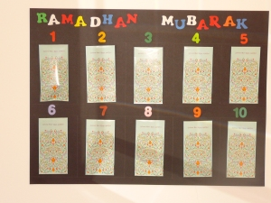 "Ramadhan ""Packet"" Calendar"