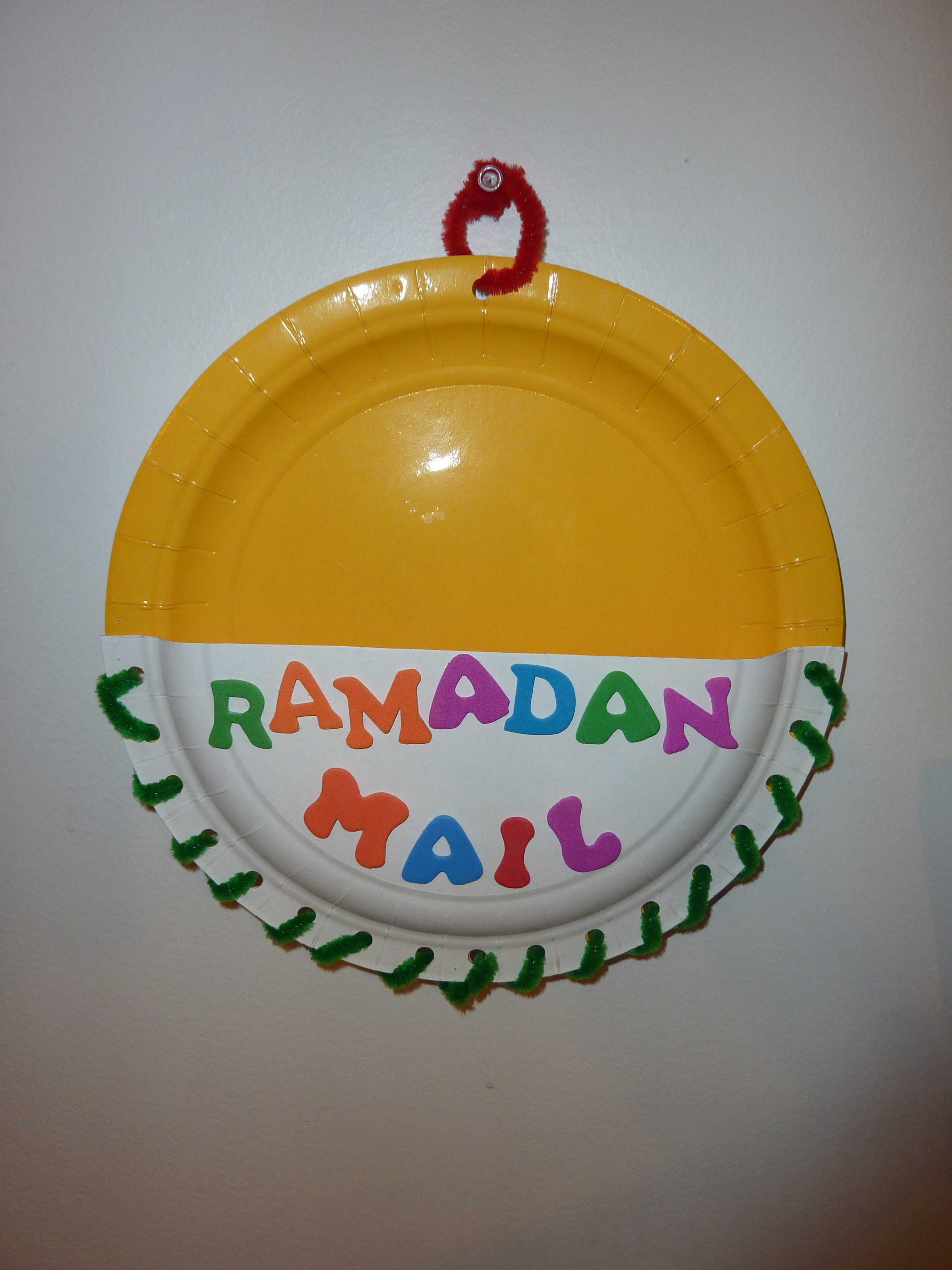 Ramadan Mail Box Craft Muslim Learning Garden