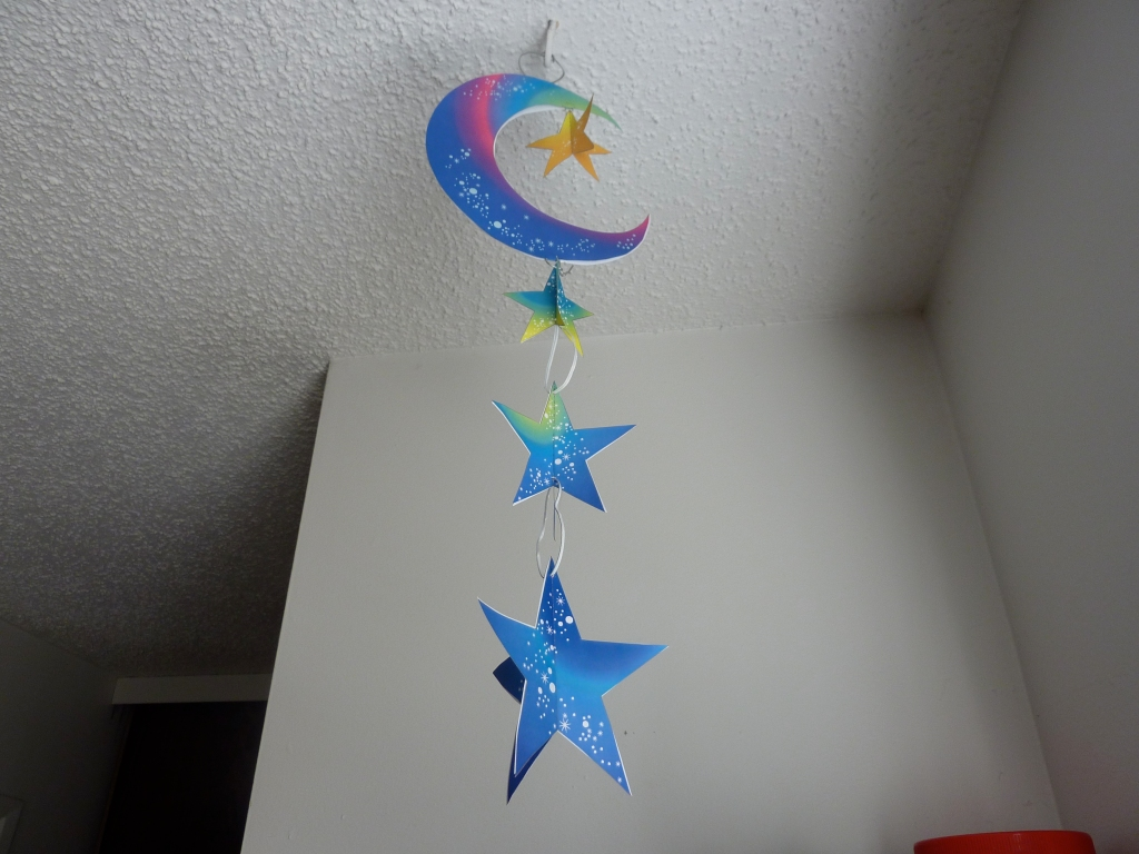 Ramadan Moon & Stars Mobile