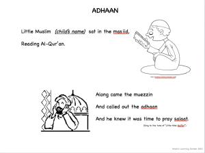 Muslim Rhyme - Adhaan