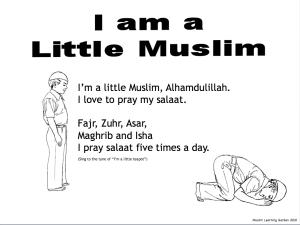 Muslim Rhyme - I'm a Little Muslim (Salaat)