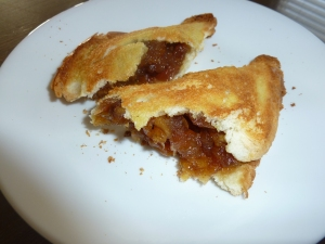 Quick Apple Turnover