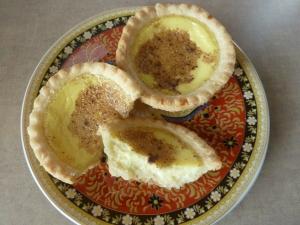 Swett egg tarts
