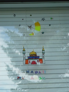 Ramadhan window cling