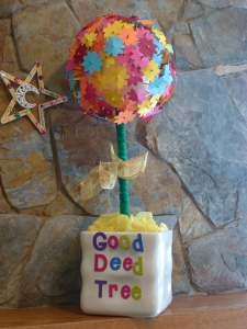 Eid topiary - Good Deed Tree