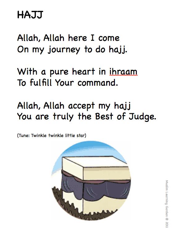 Hajj for kids | Muslim Learning Garden