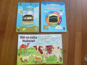 Hajj themed books for children