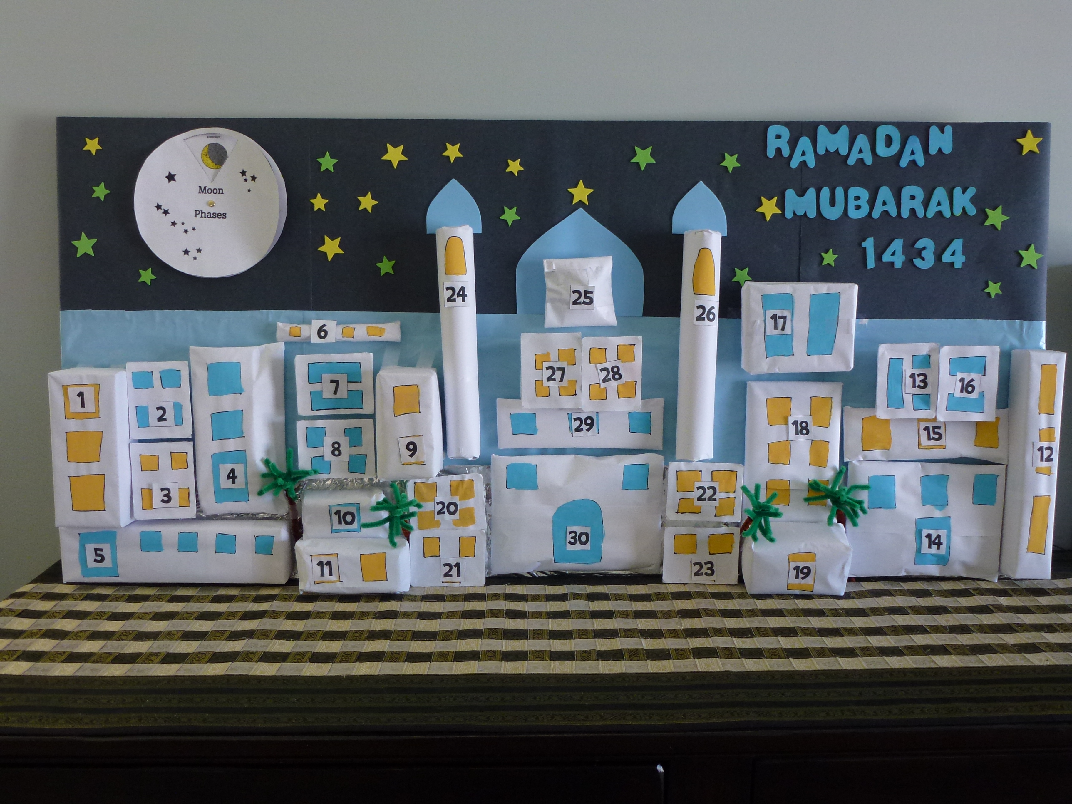 Ramadhan Calendar Ideas Muslim Learning Garden