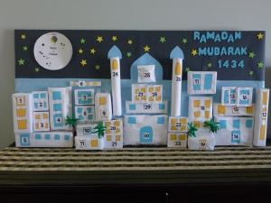 Ramadan Skyline Calendar