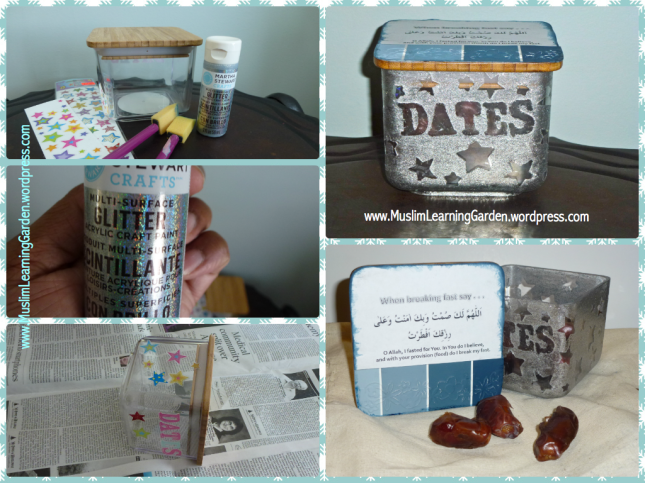 Date Jar Craft