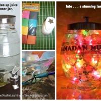 Upcycled Jar Ramadan Lantern