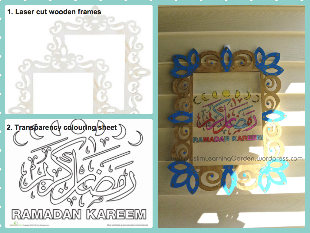 Craft Ideas For Muslim Kids Learning Garden