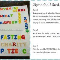 Ramadan Word Art