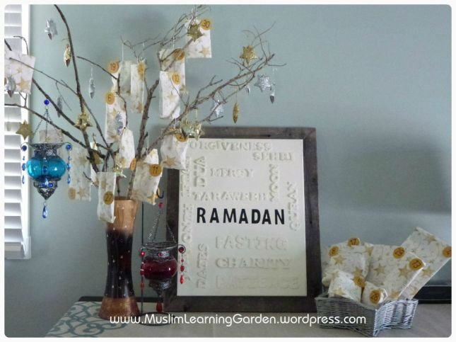Ramadan crafts calendar template 2016 for Ramadan decorations home